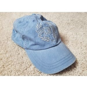 Victoria's secret PINK dad hat blue